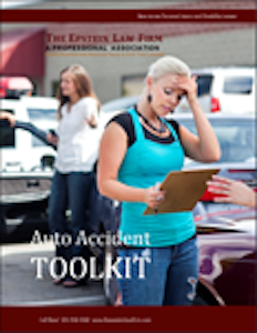 Book w/ Auto Acciden Toolkit as the title
