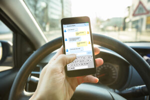 Hackensack texting and driving accident