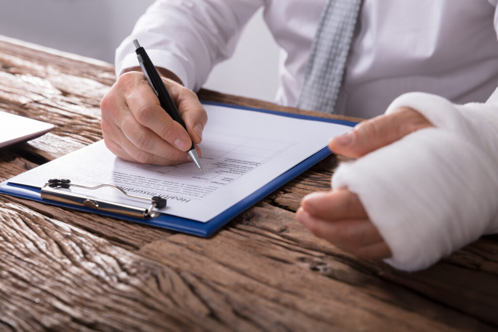 filing workers' compensation claims, Paramus
